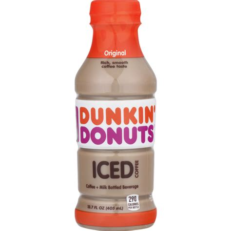 Read on for the best doughnuts to order at dunkin', according to chefs. Dunkin' Donuts Iced Coffee Original   Snackoree.com