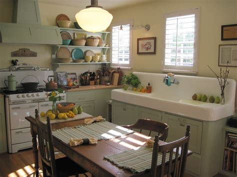 Vintage Kitchen Ideas by This Is So Much Like The Farm Kitchen I Grew Up In