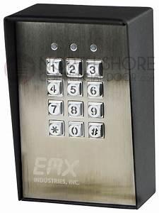 Emx Kpx100 Keypad Entry For Gates  U0026 Doors