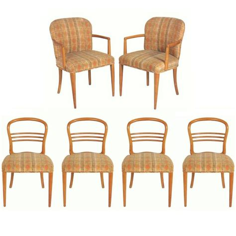 set of six swedish mid century modern dining chairs for sale at 1stdibs