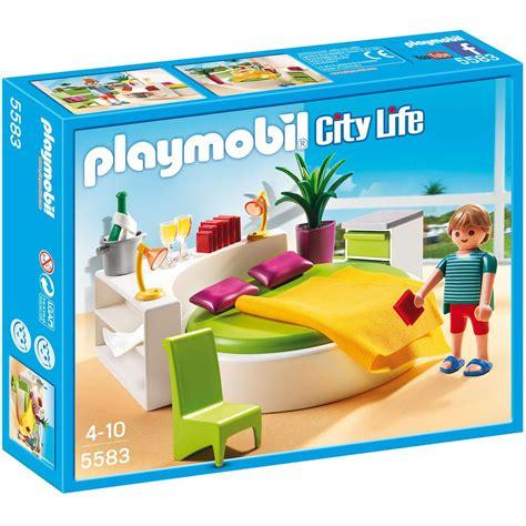 playmobil chambre des parents chambre avec lit rond playmobil city 5583 la