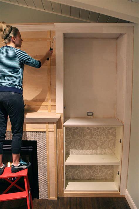 iheart organizing diy fireplace built  tutorial