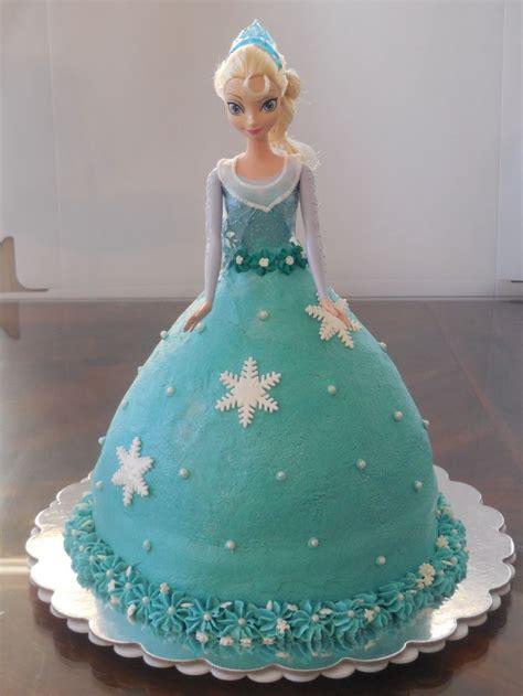 frozen elsa cake doll  target dress  iced