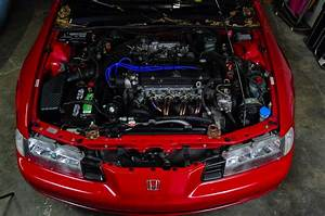 Honda Prelude Si Engine Bay H23a