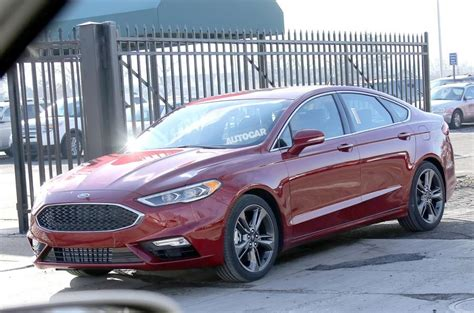 Ford Fusion Facelift Hints At Future Look For Mondeo Autocar