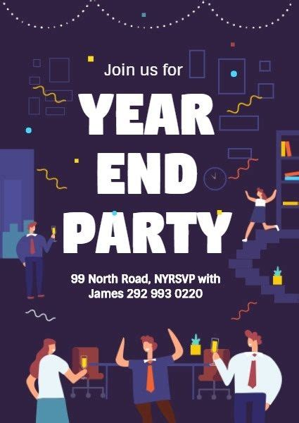 design  year  party invitation click