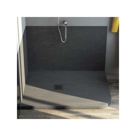 piatto doccia marmo resina stondato  asimmetrico