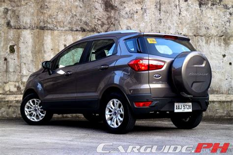 Ford Ecosport 2014 At review 2014 ford ecosport 1 5 titanium philippine car