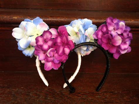 edc diy flower minnie ears whats   perfect