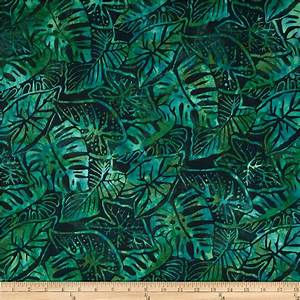 Artisan Batiks Totally Tropical Fern Leaves Palm ...