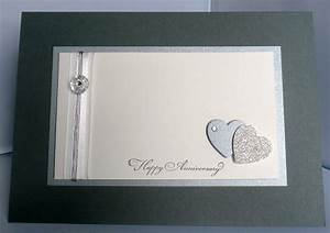 card magic 25th wedding anniversary card With images of 25th wedding anniversary cards