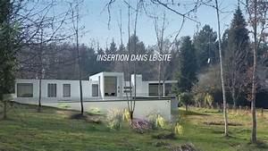 maison de gueret contemporaine sur terrain en pente youtube With maison sur terrain en pente
