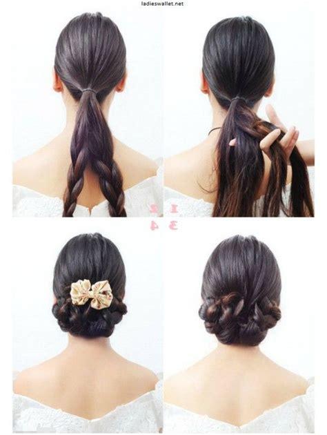 kreative frisuren lange haare selber machen