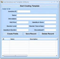 What Is An Excel Template Excel Inventory List Template Software