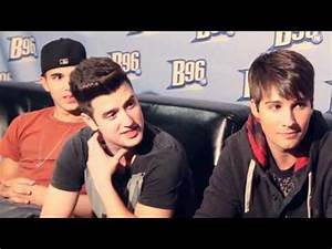 Backstage Interview with Big Time Rush at the B96 Pepsi ...