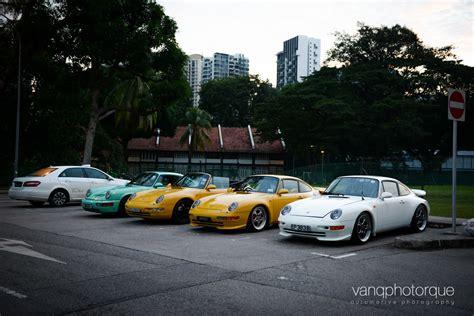 porsche singapore exciting classic porsche and ferrari drive in singapore