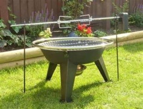 Grizzly Spit Rotisserie For Your Camp Fire Or Fire Pit