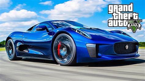 Gta 5 Custom Car Build & Drive  Ocelot Xa21  Jaguar Cx