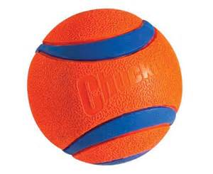 Hard Rubber Ball Dog Toy