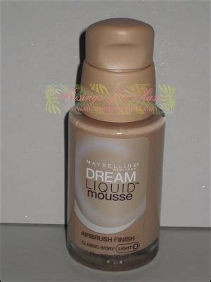 maybelline dream liquid mousse review musings muse