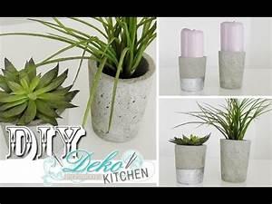 Youtube Deko Selber Machen : diy blumen bert pfe aus beton selber machen deko kitchen youtube ~ Buech-reservation.com Haus und Dekorationen