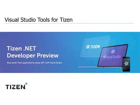 get started with visual studio tools for tizen with this webinar iot gadgets