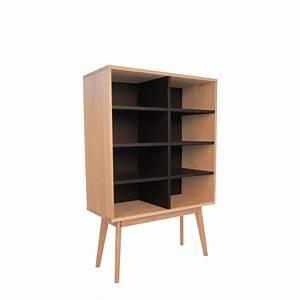 Bibliothèque Design Bois : biblioth que scandinave en bois 8 niches skoll by ~ Teatrodelosmanantiales.com Idées de Décoration