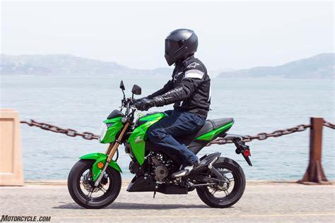 Review Kawasaki Z125 Pro by Kawasaki Z125 Pro 2017 Kawasaki Z125 Pro Ride