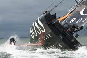 real life james bond alex thomson performs  keel walk