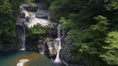 Waterfall Nature Water Japan Cinemagraph Animated Beauty