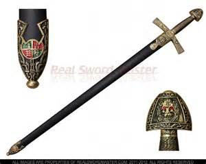 Medieval Crusader Knight Swords