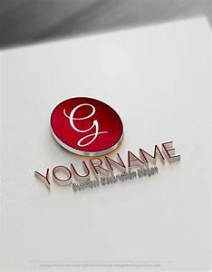 letter logo maker online free create logo for free and With letter logo creator online