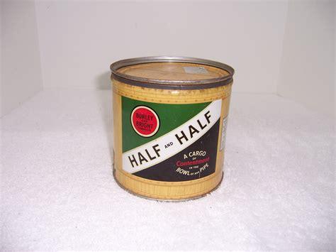 half and half half and half tobacco tin triple a resale