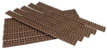 cat spikes 5 metre brown wall fence spikes anti climb security cat