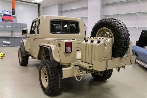 jeep wrangler military style the jeep wrangler commando is ready for war and peace