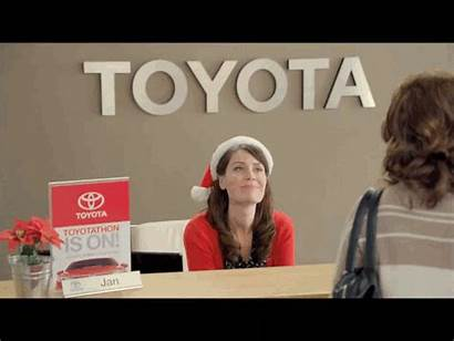 Toyota Commercials Receptionist Actress Plays Jan Animated