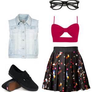 Cute Girl Nerd Outfit Ideas