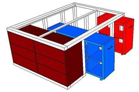 Stützfüße Für Holzbalken by Ikea Hack Aus Dem Kallax Regal Und Der Malm Kommode Wird
