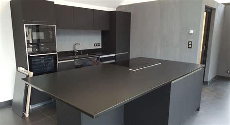 cuisine plan de travail granit noir dernières cuisines granit réalisées granit
