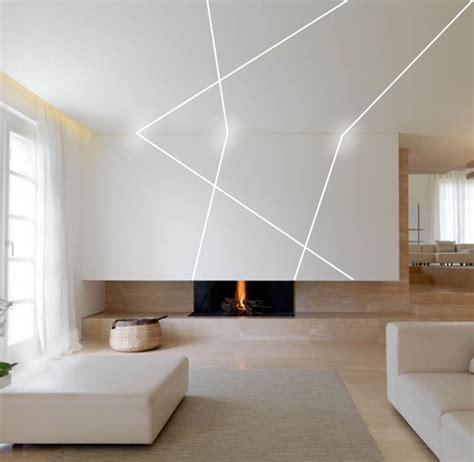 bathroom ceiling ideas linear lighting