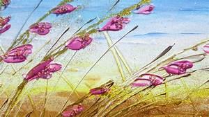 Paesaggio piccolo con fiori Vendita Quadri Online Quadri moderni Quadri astratti Quadri
