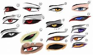 Character Eye (16 evil) Study/Practice by *Arrancarfighter ...