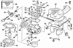 Johnson Carburetor Parts For 1990 9 9hp J10resc Outboard Motor