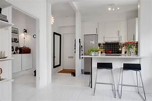 petite cuisine ouverte sur le salon 9 idees d With petite cuisine ouverte design