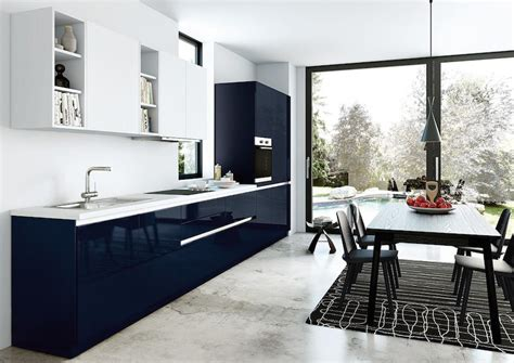 cuisine bleu nuit cuisine bleu gris canard ou bleu marine code couleur et