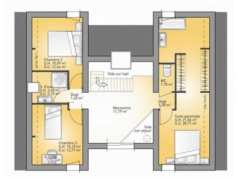 plan maison 6 chambres 17 best ideas about plan suite parentale on
