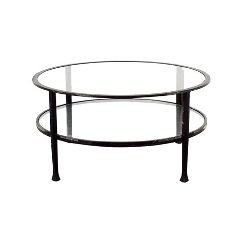 pottery barn glass l coffee table pottery barn townsend coffee table coffee