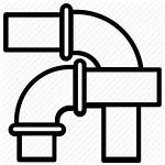 Plumbing Icon Pipes Water Sanitary Piping Pipeline