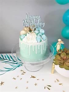 Happy Birthday CAKE TOPPER – Justine Ma
