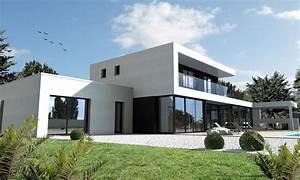 Maison Ultra Moderne Noir Et Blanc Nantes